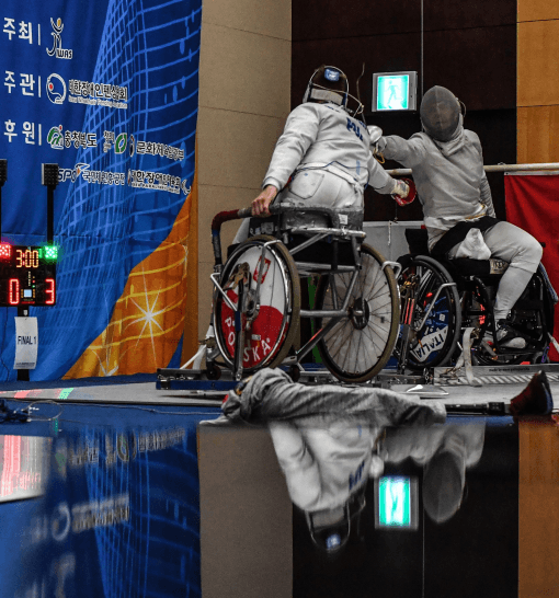 wheelchair fencing countries